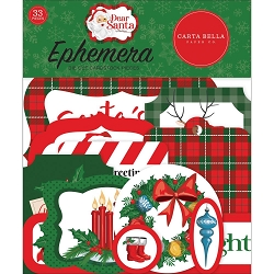Carta Bella - Dear Santa Collection - Die Cut Ephemera