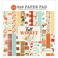 Carta Bella - Fall Market Collection - 6x6 Paper Pad