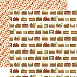 Carta Bella - Fall Market Collection - Harvest Crates 12