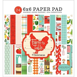 Carta Bella - Farm to Table Collection - 6x6 Paper Pad