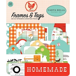 Carta Bella - Farm to Table Collection - Die Cut Tags & Frames