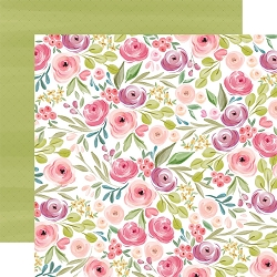 Carta Bella - Flora No.3 Collection - Bright Large Floral 12