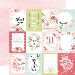 Carta Bella - Flora No.3 Collection - Subtle Journaling Cards 12