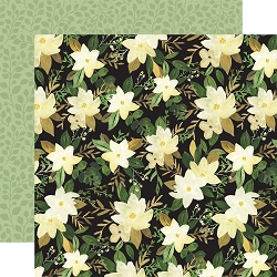 Carta Bella - Flora No.4 Collection - Natural Large Floral 12