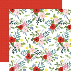 Carta Bella - Flora No.4 Collection - Bold Large Floral 12