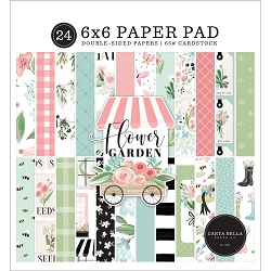 Carta Bella - Flower Garden Collection - 6x6 Paper Pad