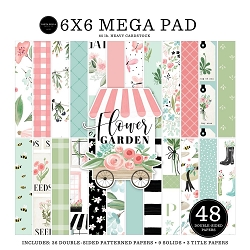 Carta Bella - Flower Garden Collection - 6x6 MEGA Paper Pad