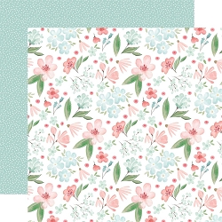 Carta Bella - Flower Garden Collection - Lovely Floral 12