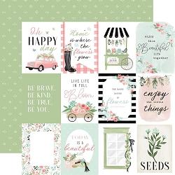Carta Bella - Flower Garden Collection - 3