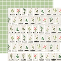 Carta Bella - Flower Garden Collection - Seeds 12