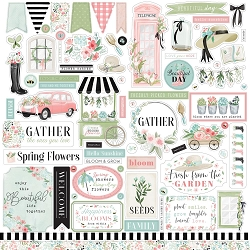 Carta Bella - Flower Garden Collection - 12