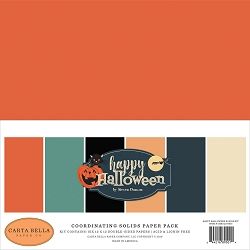 Carta Bella - Happy Halloween Collection - Solids Kit