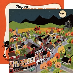 Carta Bella - Happy Halloween Collection - Halloween Town 12