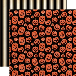 Carta Bella - Happy Halloween Collection - Laughing Pumpkins 12