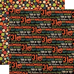 Carta Bella - Happy Halloween Collection - All Hallows Eve 12