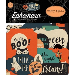 Carta Bella - Happy Halloween Collection - Die Cut Ephemera