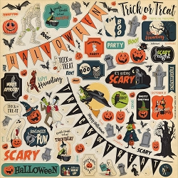 Carta Bella - Happy Halloween Collection - 12