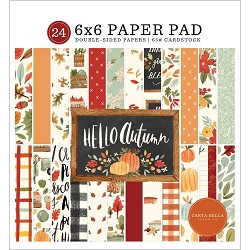 Carta Bella - Hello Autumn Collection - 6x6 Paper Pad
