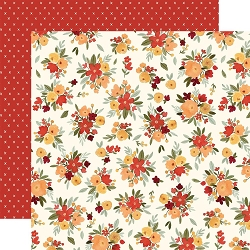 Carta Bella - Hello Autumn Collection - Fall Floral 12