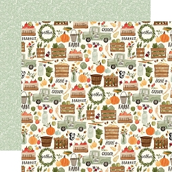 Carta Bella - Hello Autumn Collection - Fall Harvest 12