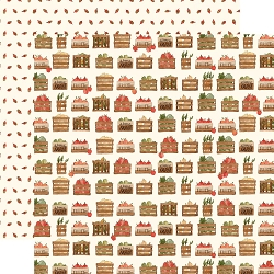 Carta Bella - Hello Autumn Collection - Harvest Crates 12