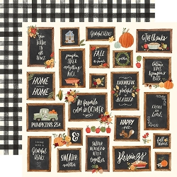 Carta Bella - Hello Autumn Collection - Give Thanks Boards 12