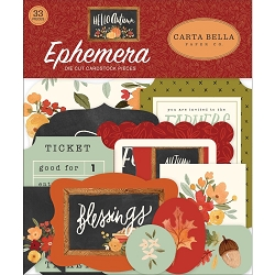 Carta Bella - Hello Autumn Collection - Die Cut Ephemera