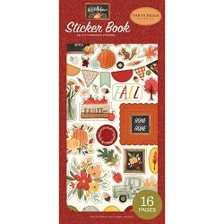 Carta Bella - Hello Autumn Collection - Sticker Book