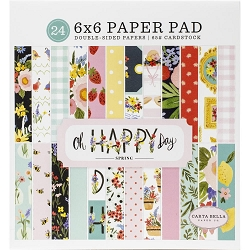 Carta Bella - Oh Happy Day Collection - 6x6 Paper Pad