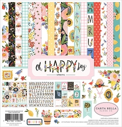 Carta Bella - Oh Happy Day Collection - Spring Collection Kit