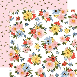 Carta Bella - Oh Happy Day Collection - Lovely Floral 12