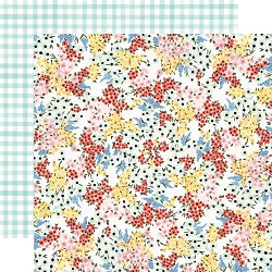 Carta Bella - Oh Happy Day Collection - Tiny Floral 12