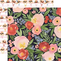 Carta Bella - Oh Happy Day Collection - Dreamy Floral 12