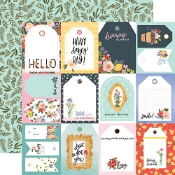 Carta Bella - Oh Happy Day Collection - Tags 12