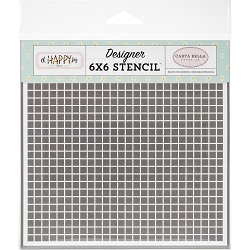 Carta Bella - Oh Happy Day Collection - Dreamy Grid 6