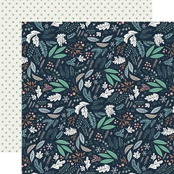 Carta Bella - Snow Much Fun Collection - Snowy Floral 12