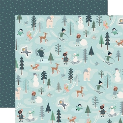 Carta Bella - Snow Much Fun Collection - Fun With Friends 12