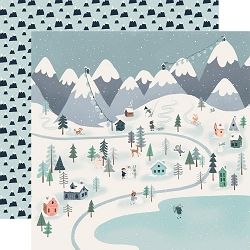 Carta Bella - Snow Much Fun Collection - Winter Town 12