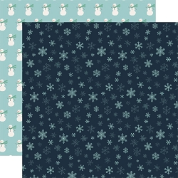 Carta Bella - Snow Much Fun Collection - Snowflakes 12