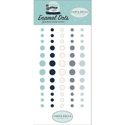 Carta Bella - Snow Much Fun Collection - Enamel Dots