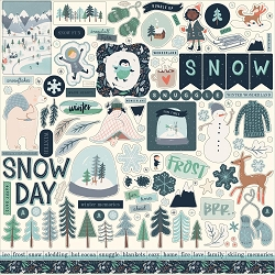 Carta Bella - Snow Much Fun Collection - 12