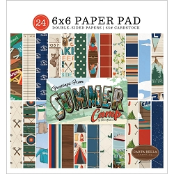 Carta Bella - Summer Camp Collection - 6x6 Paper Pad
