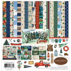 Carta Bella - Summer Camp Collection - Collection Kit