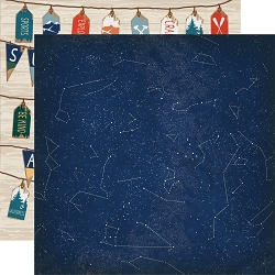 Carta Bella - Summer Camp Collection - Night Sky 12