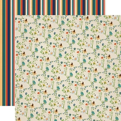 Carta Bella - Summer Camp Collection - Wildflowers 12