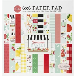 Carta Bella - Summer Market Collection - 6x6 Paper Pad