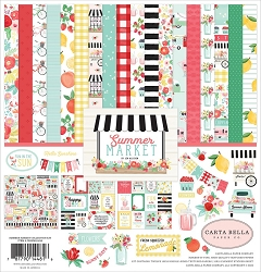 Carta Bella - Summer Market Collection - Collection Kit