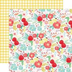 Carta Bella - Summer Market Collection - Summer Day Floral 12