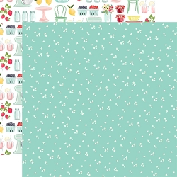 Carta Bella - Summer Market Collection - Tiny Flowers 12