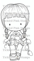 C.C. Designs - Cling Mounted Rubber Stamp - Lights Cherrie